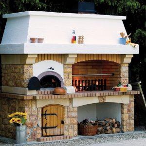 Rustikalni roštilj s krušnom peći Garibaldi