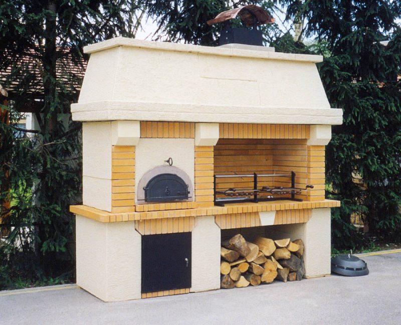 Suvremeni roštilj s krušnom peći Ariston