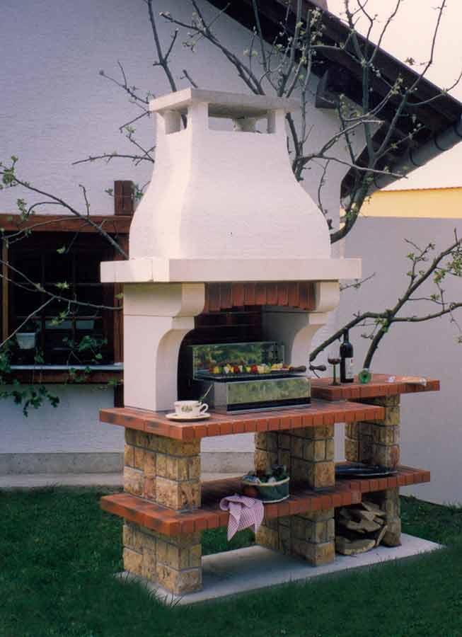 Vrtni kamin / roštilj Lavanda