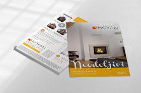 Brošura Neodoljivi kamini 2017 - nova kolekcija kamina