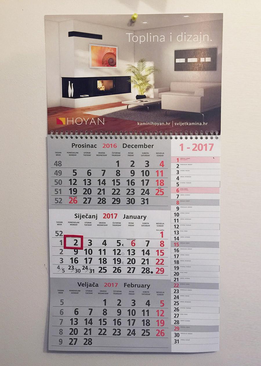 Kalendar Hoyan