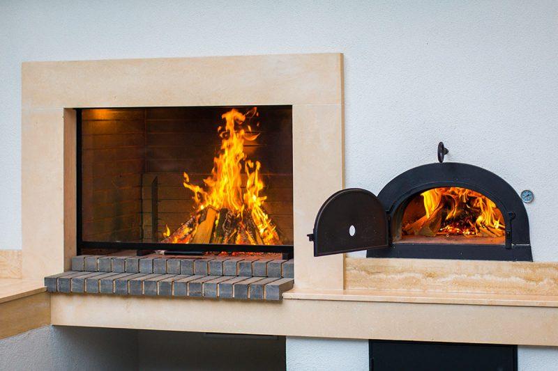 Atria, ložište i krušna peć