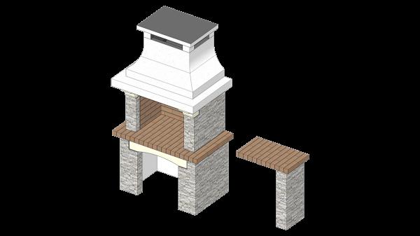 Roštilj Aurora Mozaik - 3D modeli
