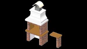 Roštilj Levant - 3D modeli
