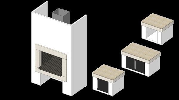Roštilj Lira - 3D modeli