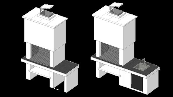 Roštilj Naos - 3D modeli