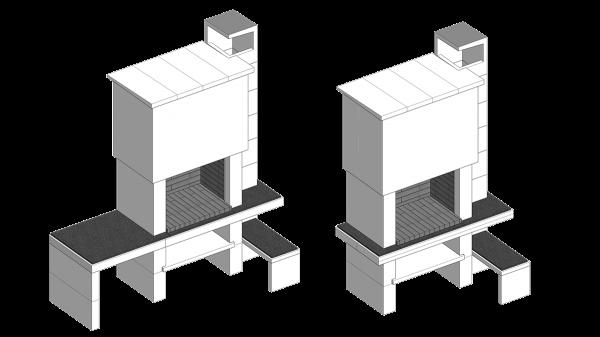 Roštilj Pegas - 3D modeli