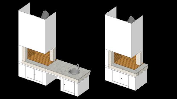 Roštilj Vega - 3D modeli