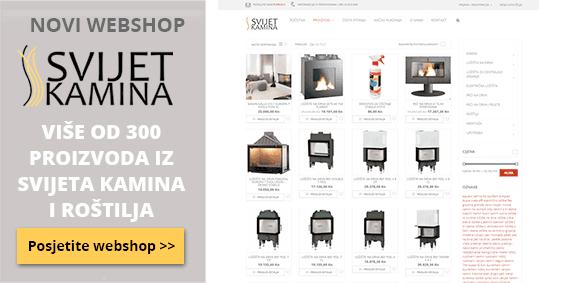 Web shop Svijet kamina