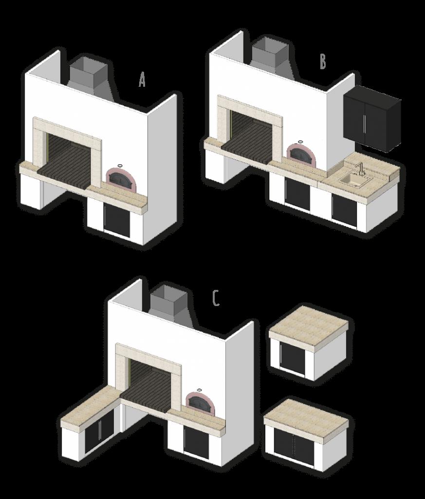 Atria, osnovni modeli