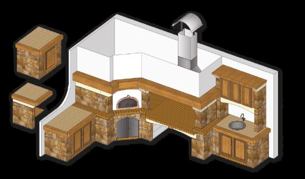 Galiot, osnovni model