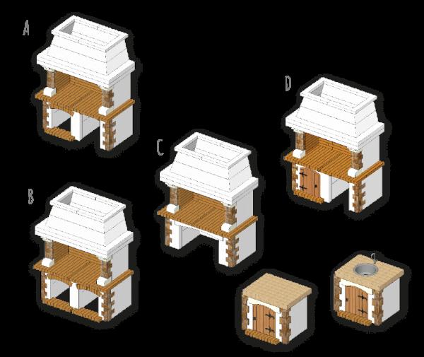 Tramontano Blanc, osnovni modeli